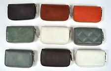 Marc by Marc Jacobs Smalto & Matte Rectangle Leather Zip Coin Purse Wallet