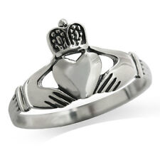 925 Sterling Silver Irish CLADDAGH Celtic Ring