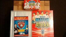 TOPPS MATCH ATTAX WORLD CUP 2010 COLLECTOR BINDER + EMPTY TIN EXCELLENT CONDTON