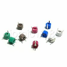 20pcs 5 PF ~ 120 PF 6 Values Variable Ceramic 6mm Trimmer Capacitor