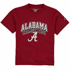 Alabama Crimson Tide Champion Youth Jersey T-Shirt - Crimson - College