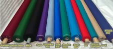 NEW STRACHAN POOL TABLE CLOTH WORSTED EURO SPEED BALL Bed & Cushions CLOTH