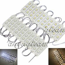 Lots LED Module Light 3 SMD 5050 Injection Cool/Wam White Waterproof Strip Light