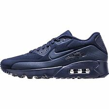 Nike Air Max 90 Ultra Moire Mens 819477-400 Midnight Navy Running Shoes Size 8