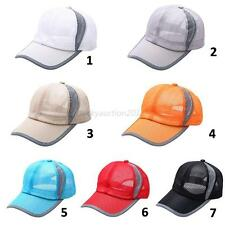 Breathable Sports Golf Cricket Baseball Cap Sun Hat Tennis Quick Dry Unisex Hat