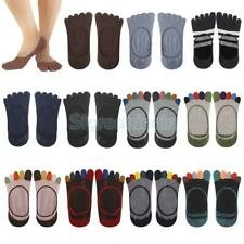 Footful Assorted  Women's Cotton Five Fingers Toe Sock Invisible Ankle Liner NEW