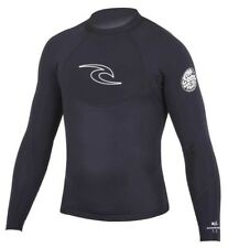 Rip Curl Dawn Patrol Men's Long Sleeve Neoprene Jacket Mens Surfing - BLACK