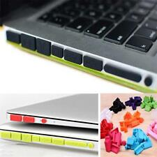 Silicone Rubber Anti-Dust Plug Cover Stopper for MacBook Air Retina11 13Ports WS