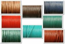 Cord Round 5mm Leather Laces Shoes Boots Fashion Shoes