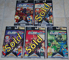 """GI Joe 25th Anniversary Comic 2-Pack with 3 3/4"""" Figures Pick Your Own Set MOC"""