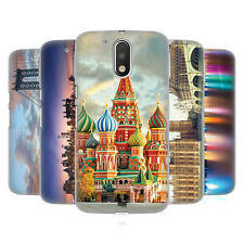 HEAD CASE DESIGNS CITY SKYLINES HARD BACK CASE FOR MOTOROLA MOTO G4 / G4 PLUS