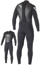 Quiksilver Syncro Mens 3/2mm Wetsuit Back Zip Surfing Diving GBS Sealed Seams XL