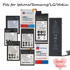 New Durable Replacement Li-ion Battery For iphone For Samsung For LG For Nokia