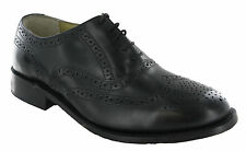 Kensington Wing Cap Brogue Oxford Mens Leather Goodyear Welted Shoes UK6-14