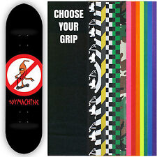 TOY MACHINE Skateboard Deck NO SCOOTER 8 with GRIPTAPE