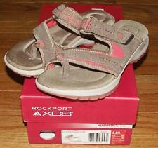 NEW in Box Rockport Womens RocSports Lite XCS Sport Thong Slide Sandals Taupe