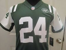 New w/Tags Flawed Green N.Y Jets Brandon Marshall Youth Jersey. Has #24 on it.