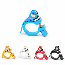 Bike Bicycle Cycling Seat Post Clamp Quick Release Adjustable Seatpost Clamps