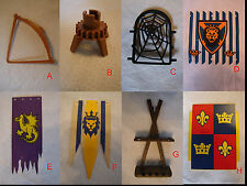 PLAYMOBIL Knights/ Castle Parts *Pick & Choose* $.99-$1.99 w/Combined Shipping