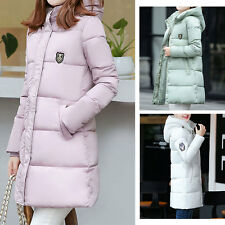 New Women's Long Winter Coat Jacket Hooded Thick Cotton Cold-proof High Quality