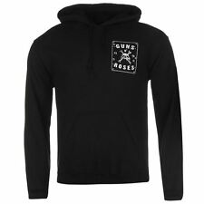 Official Mens Guns and Roses Hoody OTH Hoodie Long Sleeve Hooded Casual Top