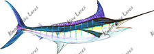 Blue Marlin Fish Sticker Decal Quality Wildlife Nature Kayak Boating Swimming