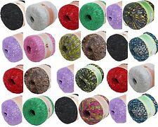2 balls TWINKLY TRAIL ladder trellis yarn  mix#3 YOUR CHOICE