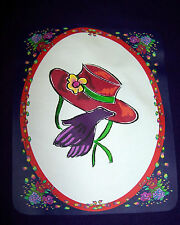 LONG SLEEVE PURPLE T-SHIRT FOR RED HAT LADIES OF SOCIETY W/ HAT & GLOVES
