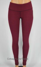 NEW LULULEMON Wunder Under Pants 10 Luon Pique Rust Berry Bumble Berry FREE SHIP
