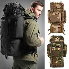 Large Military Tactical Backpack Oxford Sport Bag for Camping-Hiking Casual Hot#