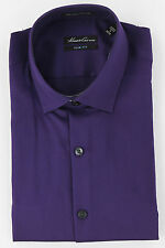 Kenneth Cole New York Mens River Purple Button Up Dress Shirt Top Ret $69.50 New