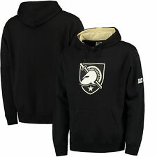 Army Black Knights Stadium Athletic Big Logo Pullover Hoodie - Black - College