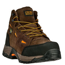 Mens Brown McRae CT Non-Metallic Hiker Leather Work Boot MR83701 Size 6-14 (D,M)