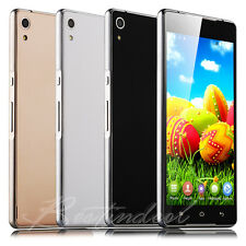 Unlocked 5.5'' Touch Dual Core 2SIM Android 4.4 Smart Cell Phone 3G GSM Net10
