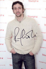 Ralf Little, English actor, The Royle Family, signed 12x8 photo. COA. Proof.