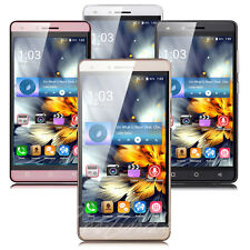Factory Unlocked 5.0'' Cell Phone Android 6.0 Quad Core Dual SIM 3G Smartphone