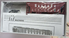 Walthers 932-5406 100 Ton Cement Covered Hopper Santa Fe #350074 HO Kit NOS
