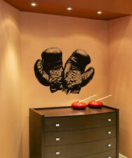 Vinyl Wall Decal Sticker Antique Boxing Gloves OS_AA682s 49W x 36H
