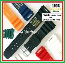 20-22MM  ND TIME, N.D. LIMITS DIVERS WATCH STRAP. POLYURETHANE RUBBER.3 COLOURS