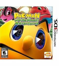 NINTENDO 3DS GAME PAC MAN AND THE GHOSTLY ADVENTURES SEAL NEW