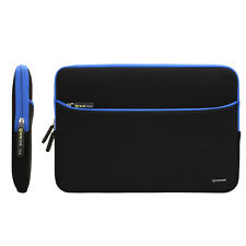 "13.3"" Notebook Laptop Neoprene Sleeve Case Pouch Cover Bag w/ Accessory Pocket"