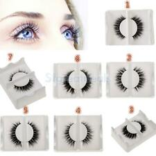 1 Pair Long Thick Makeup Cosmetic Fake False Eyelashes Luxury Eye Lashes
