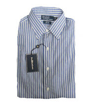 $145 Polo Ralph Lauren Mens Andrew Classic Fit Button Pony Logo Dress Shirt New