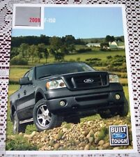 2008 FORD F150 DELUXE LITERATURE BROCHURE! LIMITED HARLEY DAVIDSON KING RANCH!