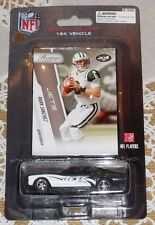NEW YORK JETS MARK SANCHEZ 2010 NFL FORD MUSTANG 1:64 DIECAST CAR W TRADING CARD