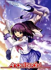 "Angel Beats Anime Fabric poster 17x13"" 24x18"" 32x24"" Decor 33"