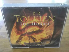 THE HOBBIT, FACTORY SEALED 5 CD ABRIDGED BOXSET READ BY MARTIN SHAW. JRR TOLKIEN