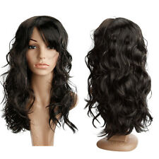 US Seller Women's lady Fashion Sexy Long Wavy Curly Party Hair Wig Full Wig g49