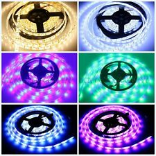 Waterproof 5M 3014 3528 5050 SMD 300/600 LED Flexible Strip Lights Xmas Home Dec