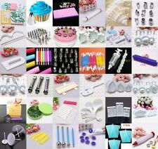 45 Styles Fondant Cake Decorating Flower Modelling Clays Sugarcraft Tool Cutters